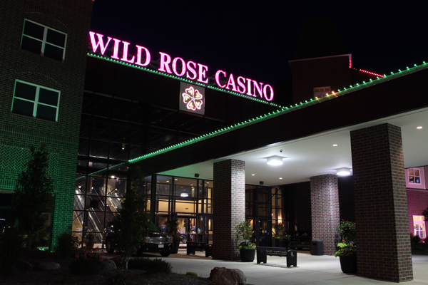 Wild rose casino and resort chariot roulette voiture